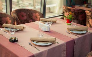 Как выбрать текстиль для ресторана и кафе?