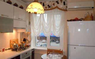 Подбираем короткие шторы на кухню правильно