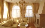 Разработка дизайна штор в гостиную