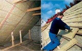 Утепление крыши. как утеплить крышу?