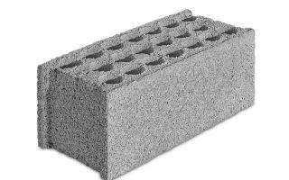 Стеновые блоки из бетона