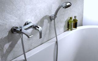 Смеситель для ванны с душем: от выбора до монтажа