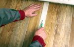 Как положить линолеум на кухне своими руками: инструкция, правила укладки, подложка, горячая и холодная сварка, советы мастера, видео