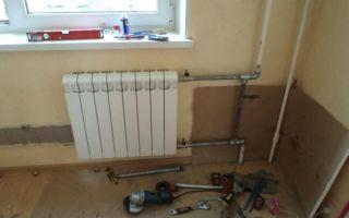Как подключить радиатор отопления. видео совет