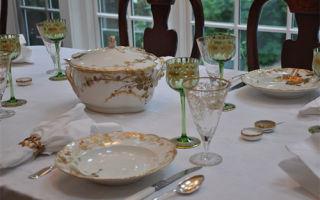 Антикварная посуда: стильное дополнение в интерьере вашего дома