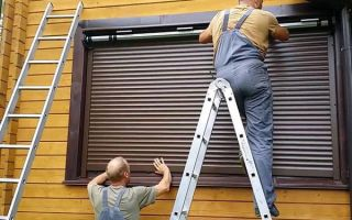 Рольставни на окна — разнообразие моделей и особенности установки