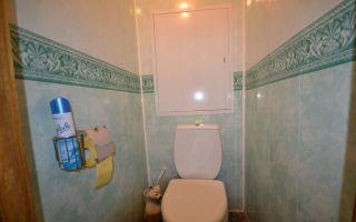 Отделка туалета пластиковыми панелями: фото дизайна интерьера