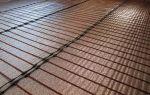 Стержневой теплый пол под плитку: порядок устройства