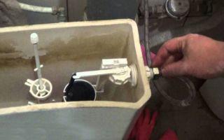 Как самому отремонтировать бачок унитаза