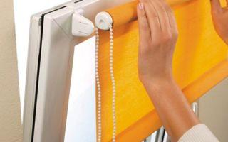 Как крепятся римские шторы на гардине на пластиковые окна: особенности и нюансы (фото и видео)