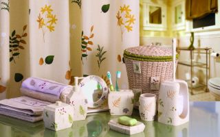 Аксессуары для ванной комнаты: приятные мелочи