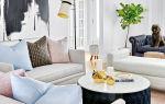 Современный интерьер гостиной от дизайнера ali budd