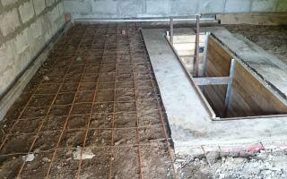 Бетонный пол в гараже: заливку и стяжку сделать правильно, своими руками бетонирование, что нужно для устройства