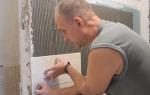 Как положить плитку на гипсокартон в ванной — пошаговая инструкция