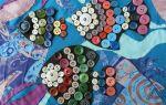 Панно из ткани: выбор тематики и варианты изготовления (+45 фото)
