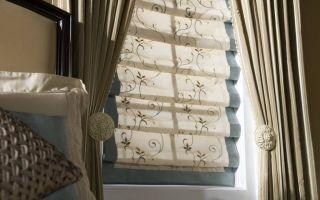 Римские шторы в интерьере: особенности использования