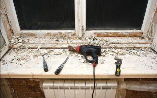 Как своими руками сделать ремонт деревянных окон?
