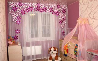 Как подобрать штору в детскую— прекрасные способы