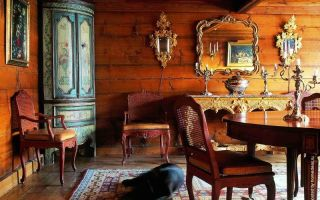 Какие предметы интерьера под старину нужно использовать в оформлении?