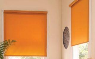 Рулонные шторы на кухню: преимущества использования