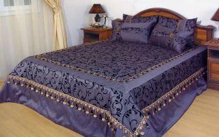 Сшить покрывало на кровать своими руками: особенности пошива