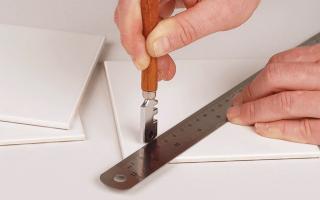 Как стеклорезом резать плитку