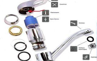 Однорычажный смеситель: инструкция и рекомендации по разборке и ремонту