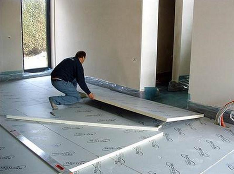 утепление бетона пенопластом