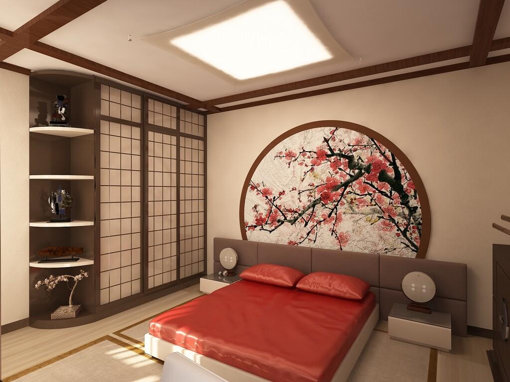 японский интерьер фото