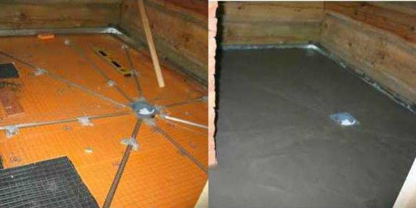 Залить гравий бетоном бетон серии